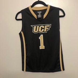 Pro edge UCF knights basketball jersey black